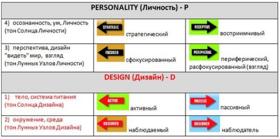 переменные, дизайн человека